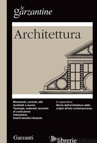 ENCICLOPEDIA DELL'ARCHITETTURA - AAVV