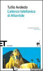 ELENCO TELEFONICO DI ATLANTIDE (L') -AVOLEDO TULLIO