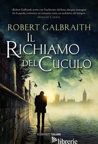 RICHIAMO DEL CUCULO (IL) -GALBRAITH ROBERT