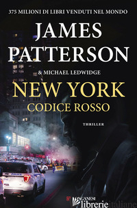 NEW YORK CODICE ROSSO - PATTERSON JAMES