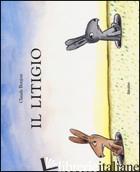 LITIGIO. EDIZ. ILLUSTRATA (IL) - BOUJON CLAUDE