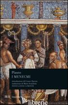 MENECMI (I) - PLAUTO T. MACCIO
