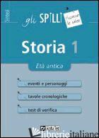 STORIA. VOL. 1 - BELLOMO ELENA; DRAGO MASSIMO