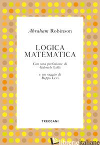 LOGICA MATEMATICA - ROBINSON ABRAHAM