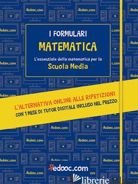 MATEMATICA. L'ESSENZIALE DELLA MATEMATICA PER LA SCUOLA MEDIA. CON ESPANSIONE ON - BARBIERI E. (CUR.); MARCHESELLI M. (CUR.)