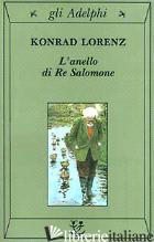 ANELLO DI RE SALOMONE (L') - LORENZ KONRAD