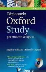 OXFORD STUDY DICTIONARY 2012. CON CD-ROM - AA.VV.