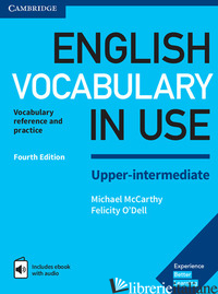 ENGLISH VOCABULARY IN USE UPPER INTERMEDIATE. BOOK WITH ANSWERS AND ENHANCED EBO - MCCARTHY