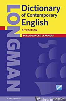 LONGMAN DICTIONARY OF CONTEMPORARY ENGLISH. CON AGGIORNAMENTO ONLINE - AA VV
