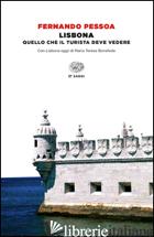 LISBONA - PESSOA FERNANDO