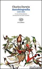 AUTOBIOGRAFIA (1809-1882) - DARWIN CHARLES; BARLOW N. (CUR.)