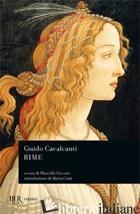 RIME - CAVALCANTI GUIDO; CICCUTO M. (CUR.)