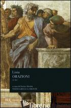 ORAZIONI I-XV - LISIA