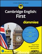 CAMBRIDGE ENGLISH: FIRST FOR DUMMIES - TONDA RAQUEL; COURTRIGHT MICHELLE; PRATT MARY J.
