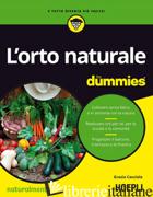 ORTO NATURALE FOR DUMMIES (L') - CACCIOLA GRAZIA