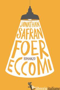 ECCOMI - FOER JONATHAN SAFRAN