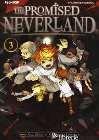 PROMISED NEVERLAND (THE). VOL. 3 - SHIRAI KAIU