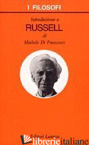 INTRODUZIONE A RUSSELL - DI FRANCESCO MICHELE