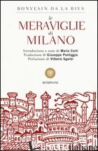 MERAVIGLIE DI MILANO (LE) - BONVESIN DE LA RIVA