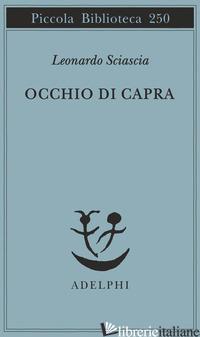 OCCHIO DI CAPRA - SCIASCIA LEONARDO