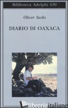 DIARIO DI OAXACA - SACKS OLIVER