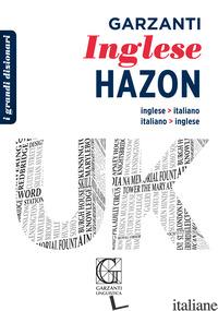 GRANDE DIZIONARIO HAZON DI INGLESE - AA.VV.