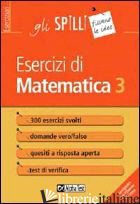 ESERCIZI DI MATEMATICA. VOL. 3 - TEDESCO GIUSEPPE