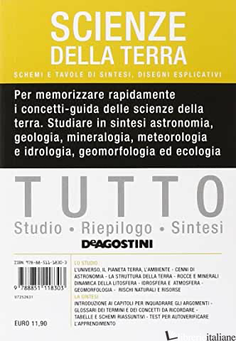 TUTTO SCIENZE DELLA TERRA - AA.VV.