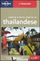 CAPIRE E FARSI CAPIRE IN THAILANDESE - AA VV