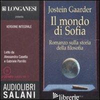 MONDO DI SOFIA. AUDIOLIBRO. 2 CD AUDIO FORMATO MP3. EDIZ. INTEGRALE (IL) - GAARDER JOSTEIN