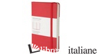 TACCUINO. POCKET, A RIGHE, ROSSO - AA VV