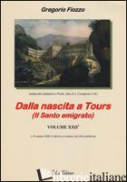 DALLA NASCITA A TOURS (IL SANTO EMIGRATO) - FIOZZO GREGORIO