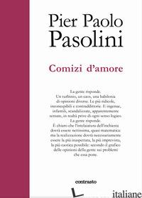 COMIZI D'AMORE - PASOLINI PIER PAOLO; CHIARCOSSI G. (CUR.); D'AGOSTINI M. (CUR.)