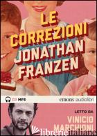 CORREZIONI LETTO DA VINICIO MARCHIONI. AUDIOLIBRO. 2 CD AUDIO FORMATO MP3 (LE) - FRANZEN JONATHAN