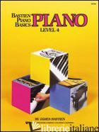 PIANO. 4º LIVELLO - BASTIEN JAMES