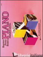 PIANO. LIVELLO PREPARATORIO - BASTIEN JAMES