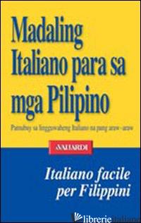 ITALIANO FACILE PER FILIPPINI (L') - CUCHAPIN DE VITA M. PAGASA
