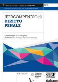 IPERCOMPENDIO DI DIRITTO PENALE - IP3
