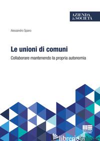 LE UNIONI DI COMUNI - SPANO ALESSANDRO