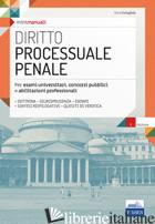 DIRITTO PROCESSUALE PENALE - COSTAGLIOLA CARLO