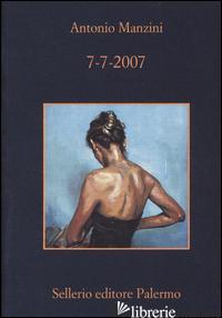 7-7-2007 - MANZINI ANTONIO