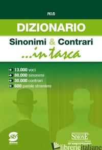 DIZIONARIO DEI SINONIMI E CONTRARI - AA VV