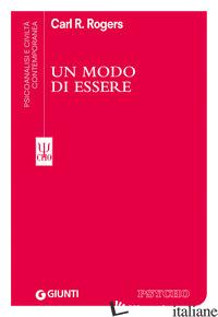MODO DI ESSERE (UN) - ROGERS CARL R.