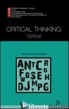 CRITICAL THINKING VERBAL - FERRARI GIUSEPPE