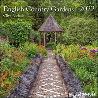 CALENDARIO 30X30 CM ENGLISH COUNTRY GARDENS 2022 -