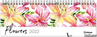 AGENDA 29,7X10,5 CM FLOWERS 2022 -
