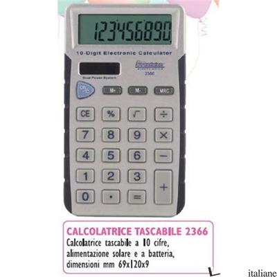 CALCOLATRICE TASCABILE 10 CIFRE -