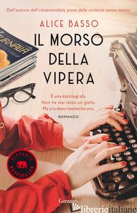 MORSO DELLA VIPERA (IL) - BASSO ALICE