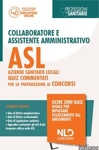 CONCORSO COLLABORATORE E ASSISTENTE AMMINISTRATIVO NELLE AZIENDE SANITARIE LOCAL - AA.VV.