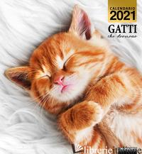 GATTI CHE DORMONO. CALENDARIO 2021 -